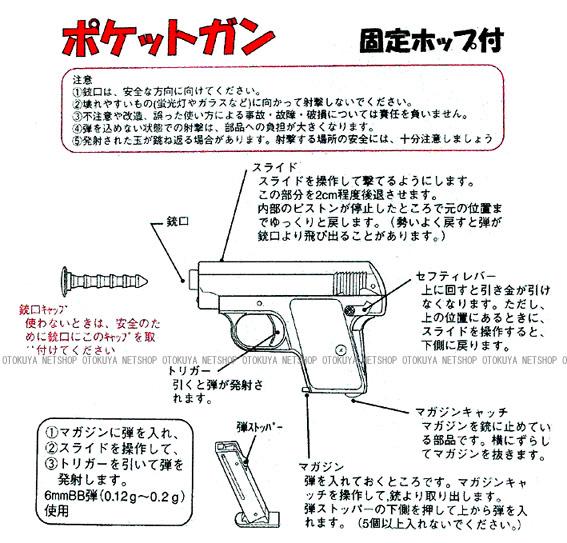 啓平社 KHC エアガン ポケットガン