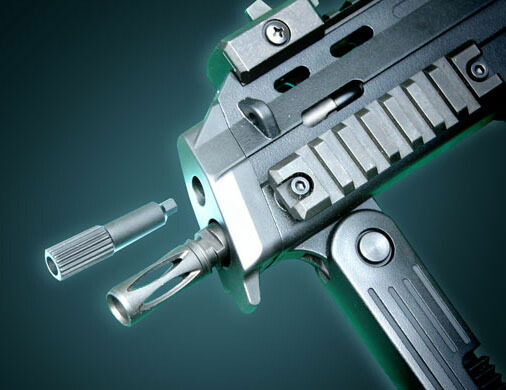MP7A1 ガス ブローバック KSC マシンガン