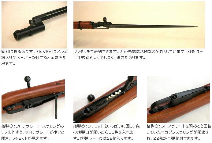 KTW 新モシン ナガン M1891 歩兵銃 旧日本軍 ライフル
