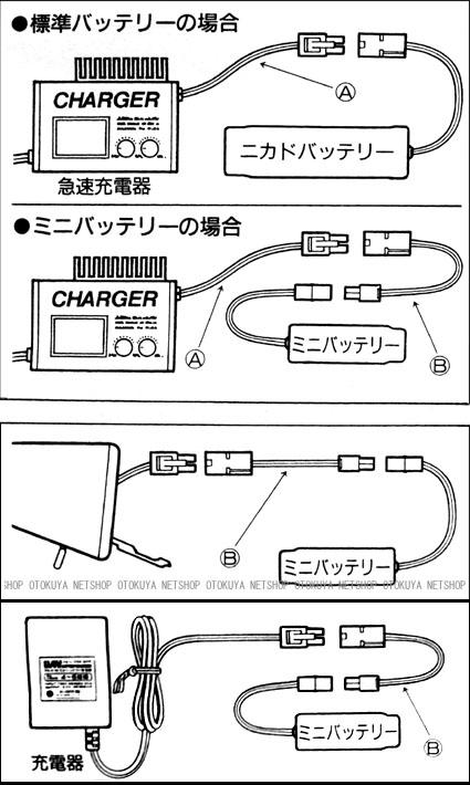 マルイ 純正 電動ガン コネクター セット 変換