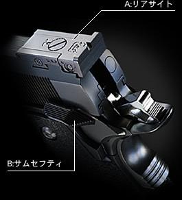 東京マルイ ハイキャパ 5.1 Rシリーズ ガス ブローバック