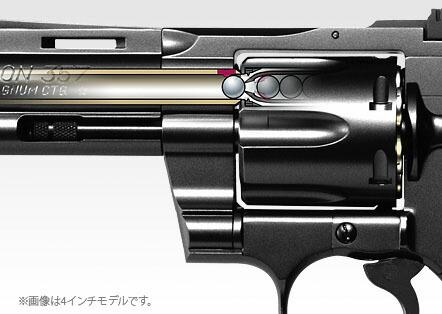 ガス リボルバー パイソン コルト 357マグナム 東京マルイ
