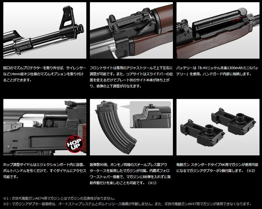 次世代 電動ガン AK47 東京マルイ