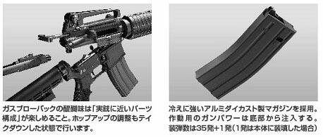 ガス M4A1 カービン マシンガン 東京マルイ