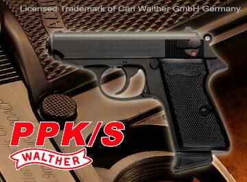 PPK/S ワルサー ブラック ガス マルゼン