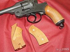 二十六式拳銃 グルーブド 木製 グリップ HWS