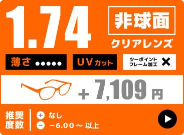 1.74非球面レンズ