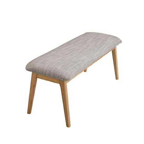 Dining Bench Cheer Two For People Seat And Chair Type Wooden Scandinavian Natural