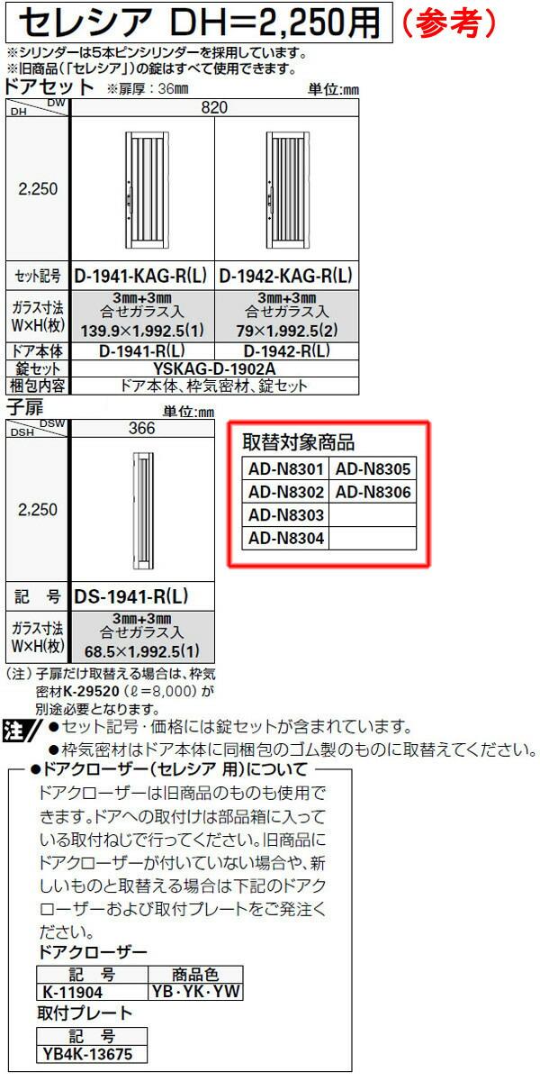 セレシア DH2250仕様