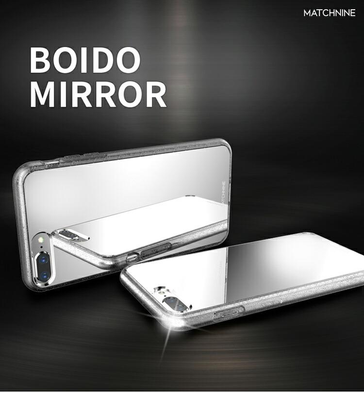 b02c2cadee 商品紹介. iPhone 8 Plus ケース iPhone 7 Plus カバー Matchnine BOIDO MIRROR(マッチナイン ボイド  ミラー) アイフォン8 ...