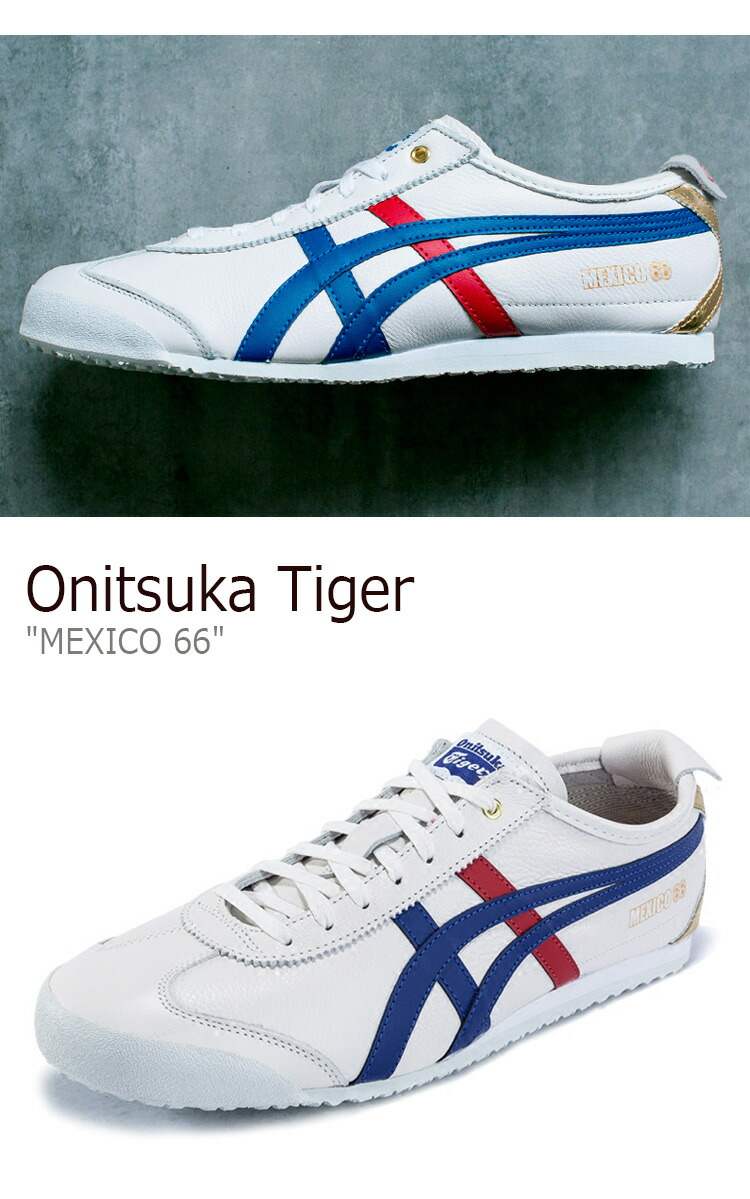 online store c1a44 c52a3 Onitsuka tiger sneakers Onitsuka Tiger men gap Dis MEXICO 66 Mexico 66  White Blue white blue D507L-0152 shoes