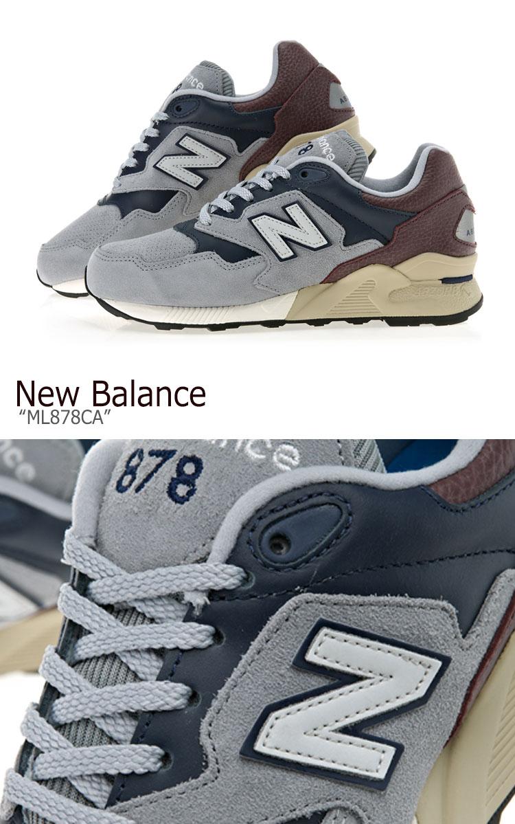 newest 45850 df731 New Balance 878 sneakers New Balance men gap Dis ML 878 CA New Balance878  GRAY gray ML878CA shoes-free article