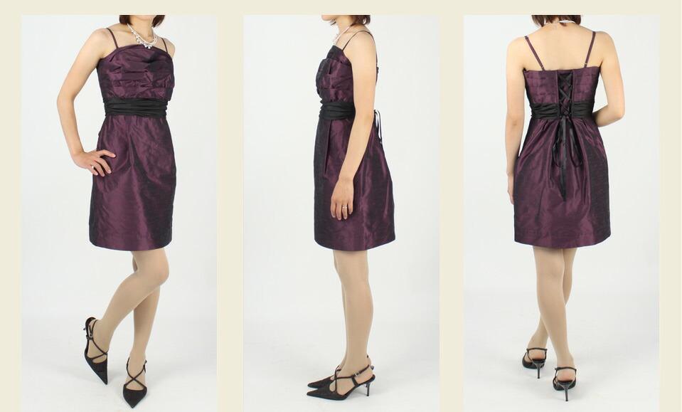 4ce3f430f7852 ワンピースの着丈は、膝上8cmほどの長さになります。オーバースカートを着用するとアシンメトリーの長い部分が膝上くらいの長さになります。