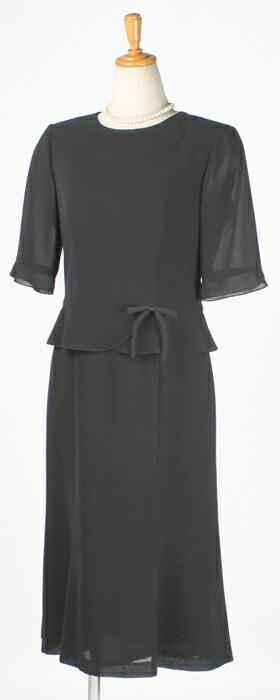 「マリクレール(marie claire)ブラックフォーマルワンピース」の商品写真
