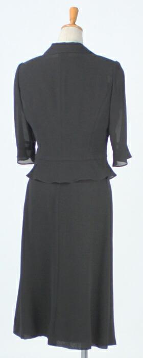 「マリクレール(marie claire)ブラックフォーマル3ピーススーツ」の商品写真