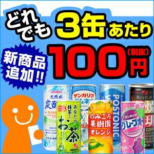 3缶100円