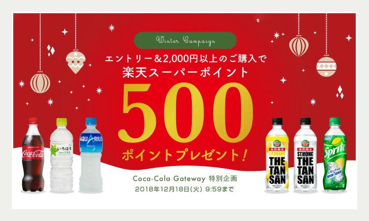 エントリー&対象商品2000円以上(税込)ご購入で500ポイントプレゼント