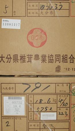 シイタケの品種別販売