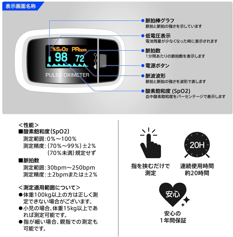 血中酸素測定器