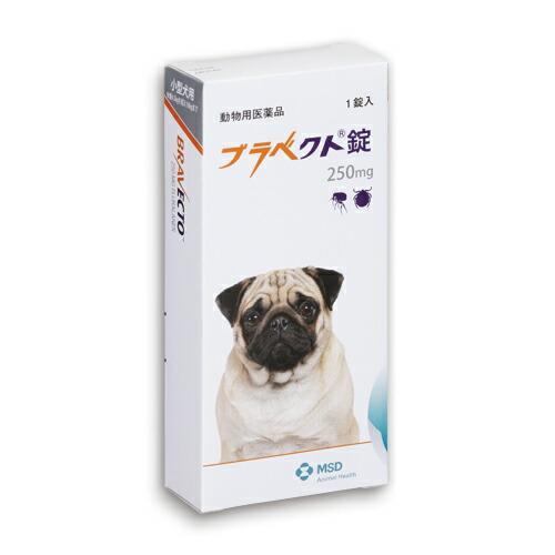 ブラベクト錠 250mg 1個 犬用