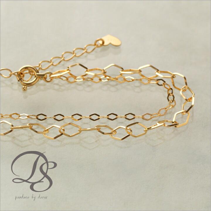 ブレスレット2連ブレスレット 18金 ディーヴァス K18 18K ゴールド ターコイズ プレゼント レディース天然石 DEVAS