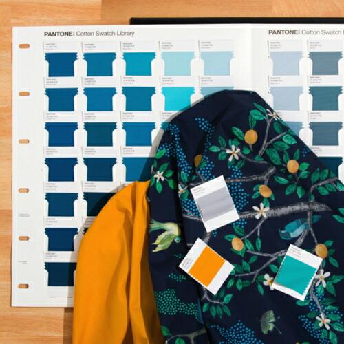 パントン ファッション、ホーム + インテリア・コットン・スワッチライブラリ