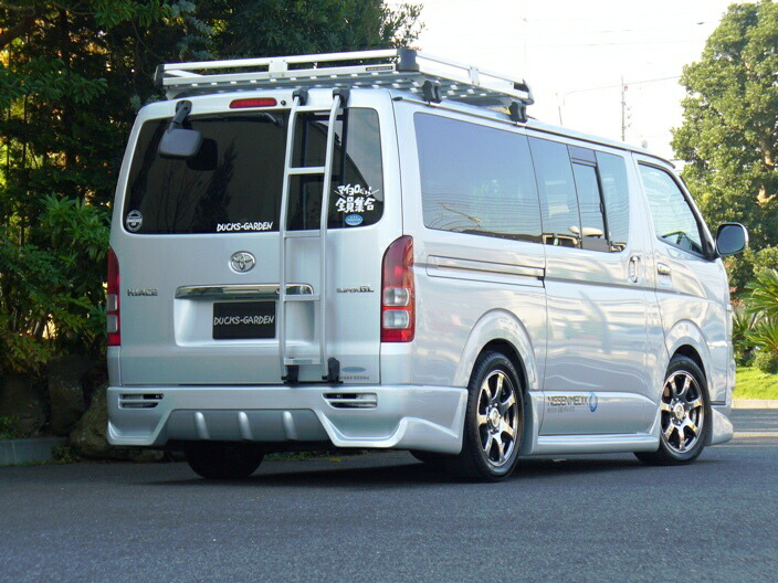 Normal Exhibition Booth Size : Ducksgarden hiace series aero launches new front