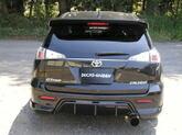 トヨタ カルディナ 24# 前期、後期兼用ダックスガーデンリアーバンパー発売開始!