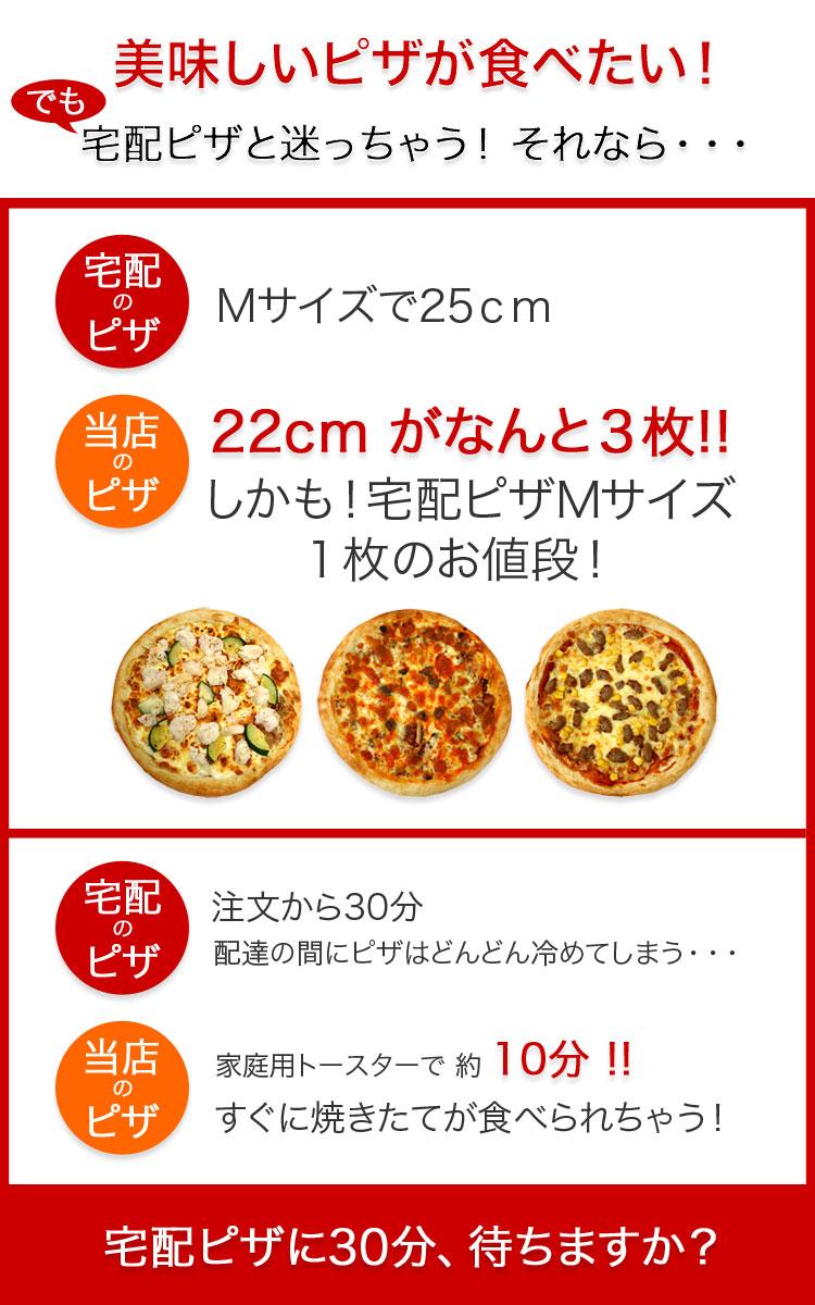 宅配ピザ比較