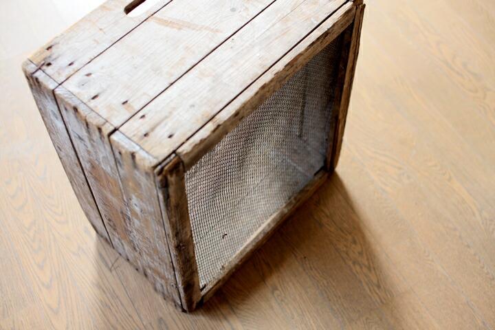アンティーク木箱裏面