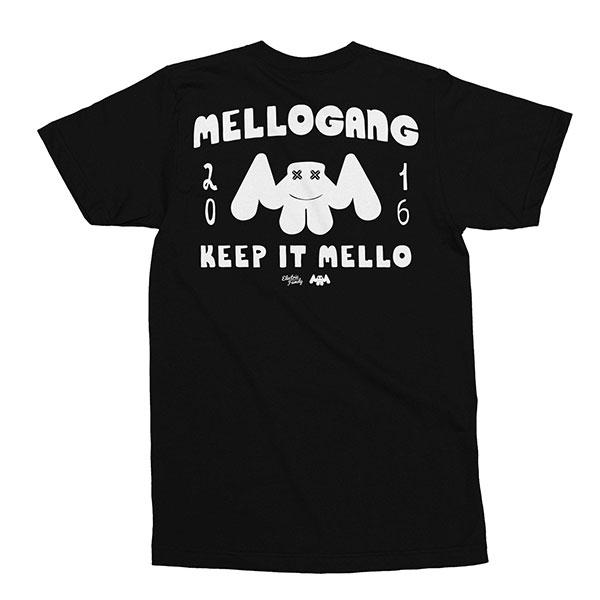MELLOGANGプロジェクト「MELLOGANG」Tシャツ!MELLOGANGTEE【マシュメロ】【正規品】