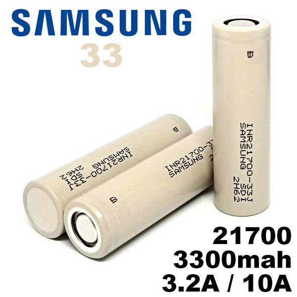 21700 バッテリー サムスン Samsung 21700 33J 3300mAh 充電可能 MOD VAPE 電子タバコ 電池 メーカー正規品