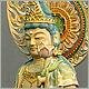 極上彫り仏像