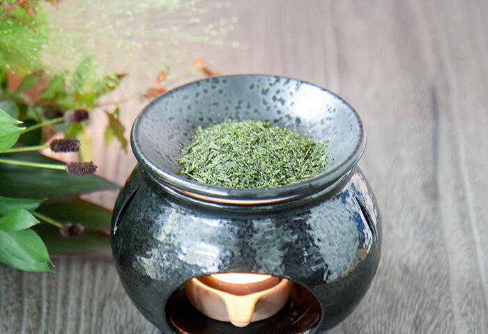 茶香炉_黒