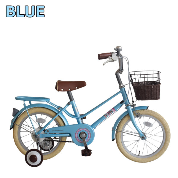 TOPONE 子供自転車 16インチ 青
