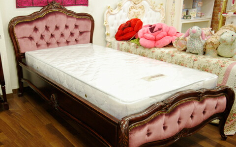 e-collection: With Baroque bed < luxury mattress > bed series ...