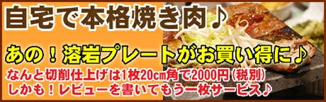 溶岩焼き肉プレートシリーズ