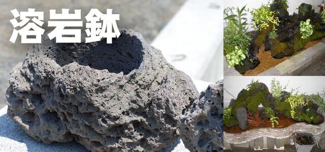 溶岩鉢シリーズ