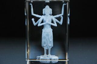 クリスタル仏像