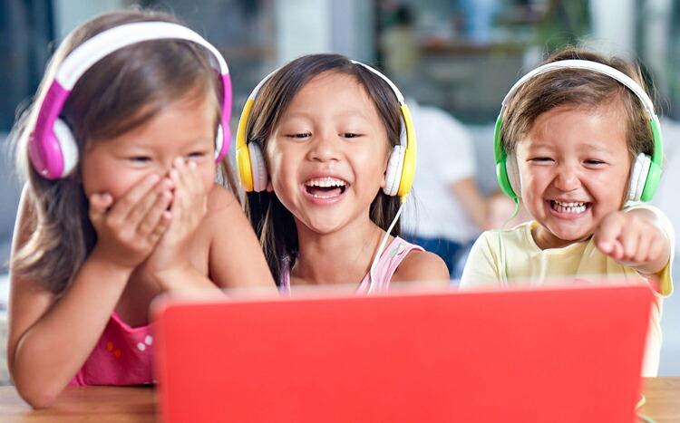 子供用/キッズヘッドホン Buddyphones