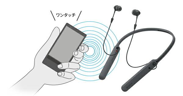 SONY WI-C400 ワイヤレスイヤホン