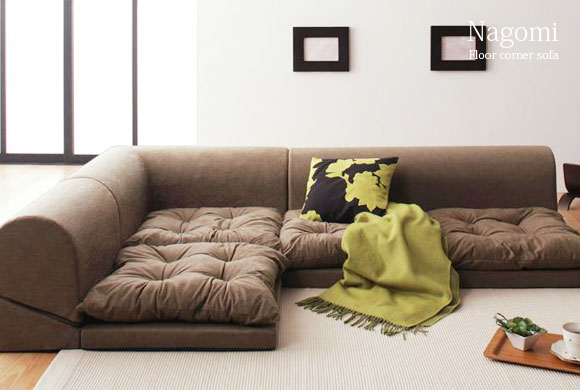 Lazy Couch Tatami Single Floor Sofa Bed Removable Washable