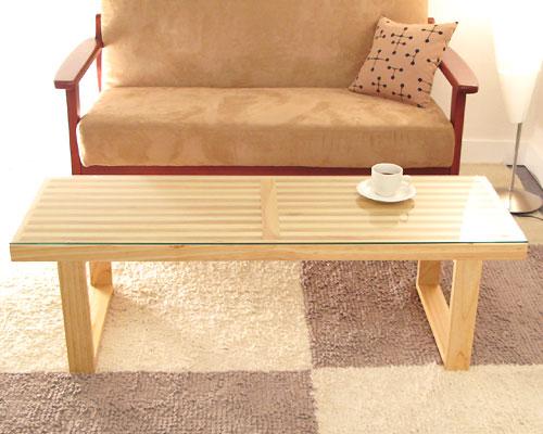 e-goods  라쿠텐 일본: 에디 유리 테이블 (유리 테이블 벤치 센터 ...