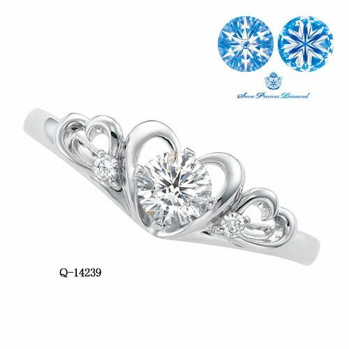 婚約指輪 エンゲージリング プラチナダイヤモンドリング