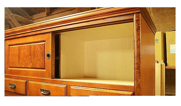 栓(せん)・桐「伝統と職人技が見事な手造り日本製の家具」完全手作りオーダーメイド家具