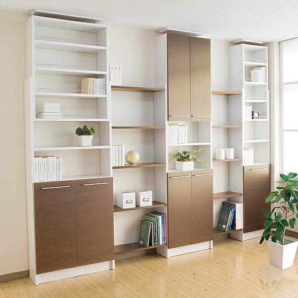 つっぱり収納書棚