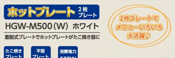 ミニ・ホットプレート(2枚プレート付)