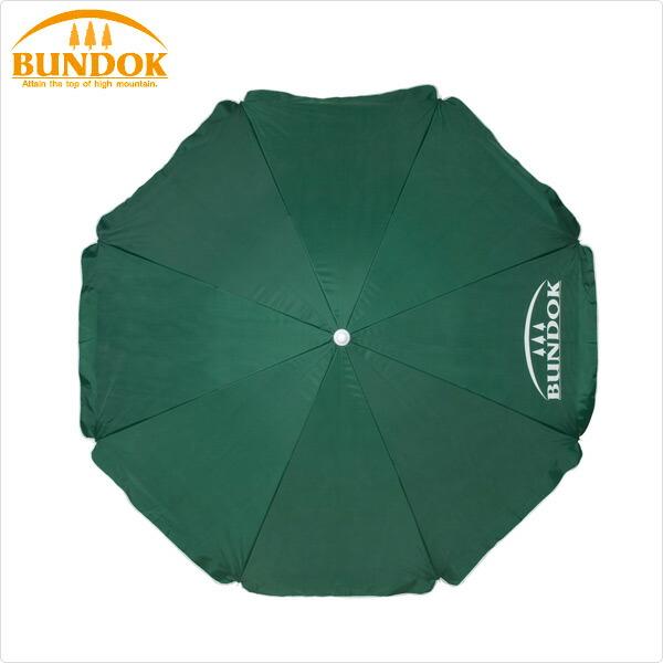 BUNDOK(バンドック)パラソル220UV220cmBD-10