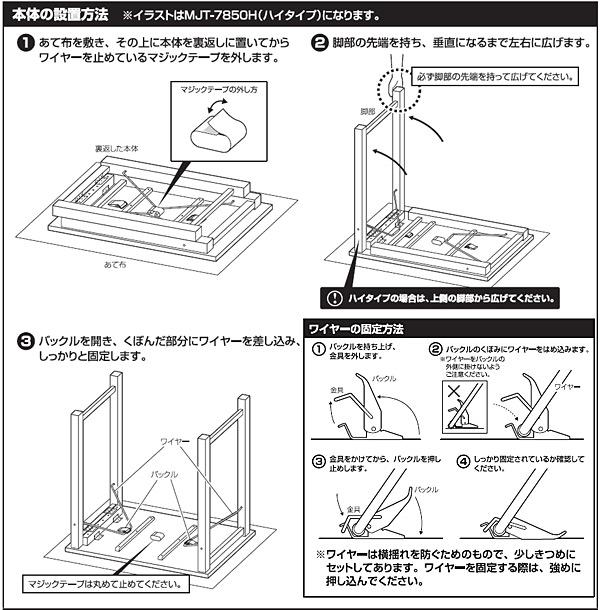 本体の設置方法