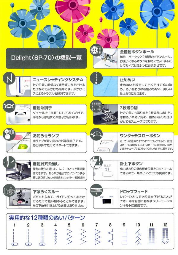 コンピュータミシンモナミディライトソフトケース付